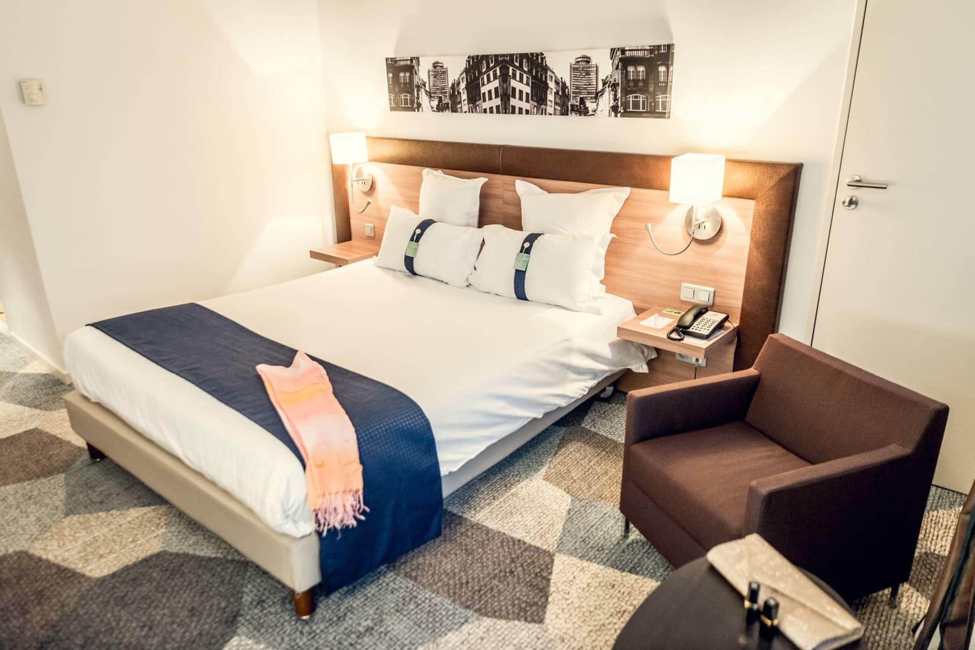 Chambre de l'Holiday Inn Mulhouse
