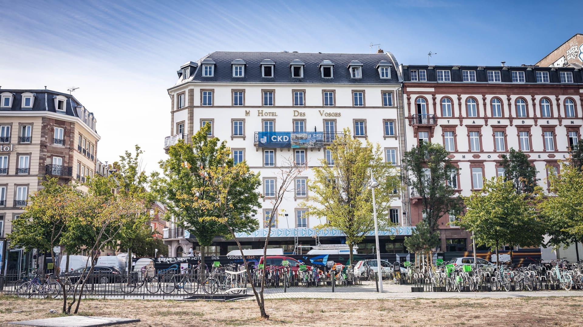 Hôtel des Vosges, renaissance d'une légende