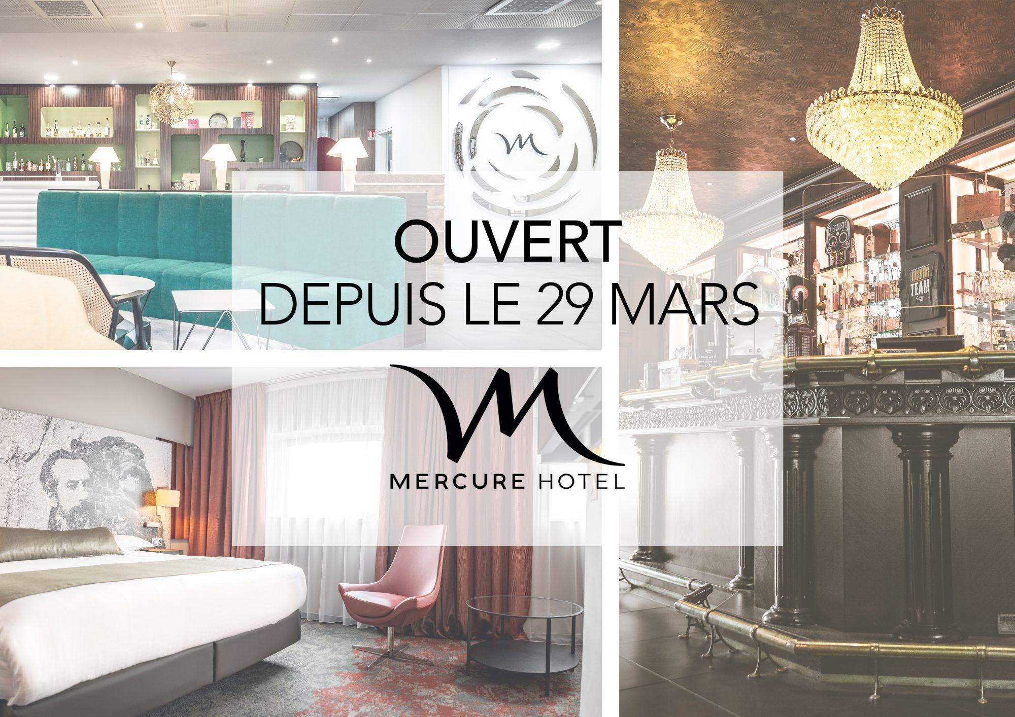 Hôtel Mercure Belfort Centre – Ouvert depuis le 29 Mars